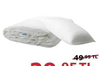 Uyku Seti IKEA'da Ekim ayına özel indirim