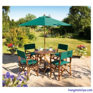 Plastik Ahşap Bahçe ve Balkon Mobilyaları