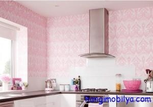 mutfak duvar kagidi 300x211 Banyo ve Mutfakta Duvar Kağıdı Seçimi