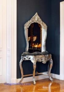 klasik ayna5 208x300 Dekorasyonda Klasik Ayna Kullanımı