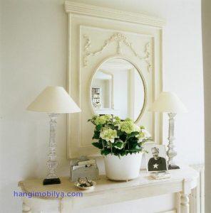 klasik ayna6 296x300 Dekorasyonda Klasik Ayna Kullanımı