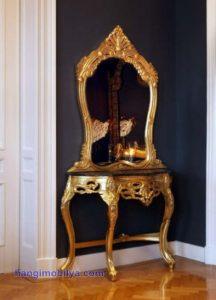 klasik ayna8 216x300 Dekorasyonda Klasik Ayna Kullanımı