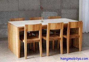yemek masasi modelleri03 300x209 Yemek Masası Modelleri