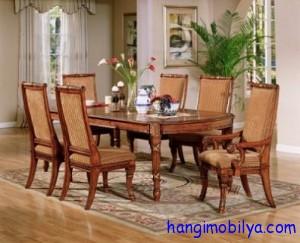 yemek masasi modelleri07 300x243 Yemek Masası Modelleri