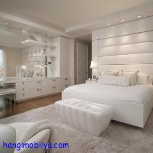 beyaz yatak odasi dekorasyonu1 300x300 Beyaz Yatak Odası Dekorasyonu