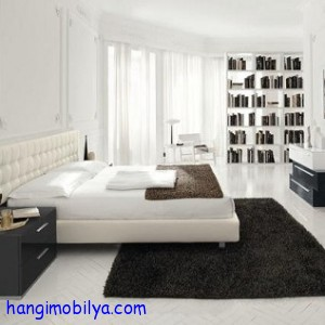 beyaz yatak odasi dekorasyonu4 300x300 Beyaz Yatak Odası Dekorasyonu