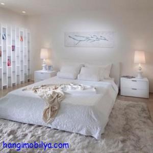 beyaz yatak odasi dekorasyonu7 300x300 Beyaz Yatak Odası Dekorasyonu