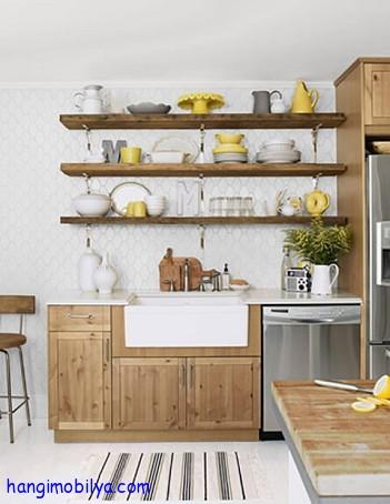 Mutfak Dekorasyonu ve Raf Düzenlemeleri