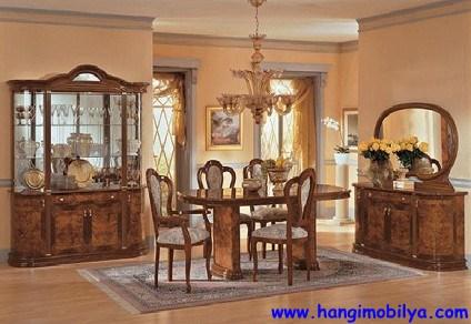 Klasik Tarz Yemek Odası Dekorasyonu