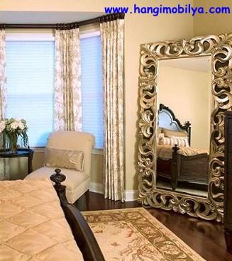 Yatak Odasında Dekoratif Ayna Kullanımı