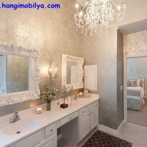 banyo dekorasyonunda duvar kagidi kullanimi01 300x300 Banyo Dekorasyonunda Duvar Kağıdı Kullanımı