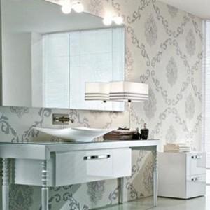 banyo dekorasyonunda duvar kagidi kullanimi02 300x300 Banyo Dekorasyonunda Duvar Kağıdı Kullanımı