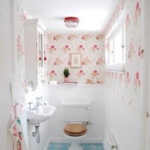 banyo dekorasyonunda duvar kagidi kullanimi03 300x300 Banyo Dekorasyonunda Duvar Kağıdı Kullanımı