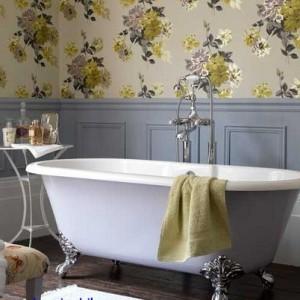 banyo dekorasyonunda duvar kagidi kullanimi04 300x300 Banyo Dekorasyonunda Duvar Kağıdı Kullanımı