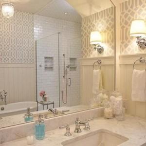 banyo dekorasyonunda duvar kagidi kullanimi11 300x300 Banyo Dekorasyonunda Duvar Kağıdı Kullanımı