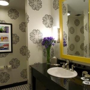 banyo dekorasyonunda duvar kagidi kullanimi12 300x300 Banyo Dekorasyonunda Duvar Kağıdı Kullanımı