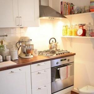 kucuk mutfaklar icin cozum yollari1 300x300 Küçük Mutfaklar İçin Çözüm Yolları