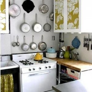 kucuk mutfaklar icin cozum yollari6 300x300 Küçük Mutfaklar İçin Çözüm Yolları