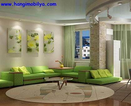 Yeşil Oturma Grubu Modelleri