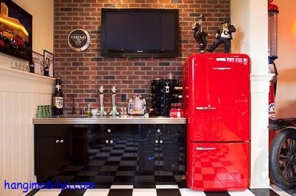Retro Tarzı Mutfak Dekorasyonu