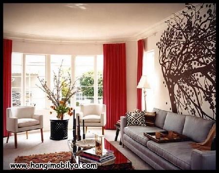 Romantik Salon Dekorasyonu