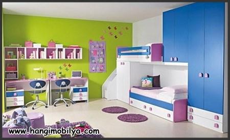 Çocuk Odası Dekorasyonu: Renkler