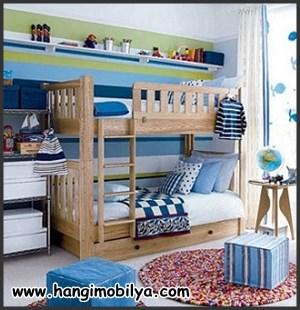 Ranzalı çocuk odası dekorasyonu