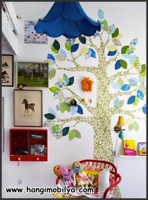 Çocuk odası süsleme