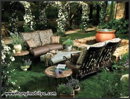 Bahçe Oturma Grubu