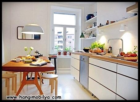 İskandinav Tarzı Mutfak Dekorasyonu